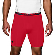 Under Armour Men's HeatGear Armour Compression Shorts – Mid