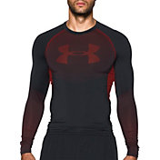 Under Armour Men's HeatGear Armour Printed Compression Long Sleeve Shirt