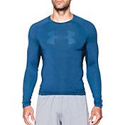 Under Armour Men's HeatGear Armour Printed Compression Long Sleeve Shirt