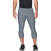Under Armour Men's HeatGear Armour Twist Print Three Quarter Length Leggings