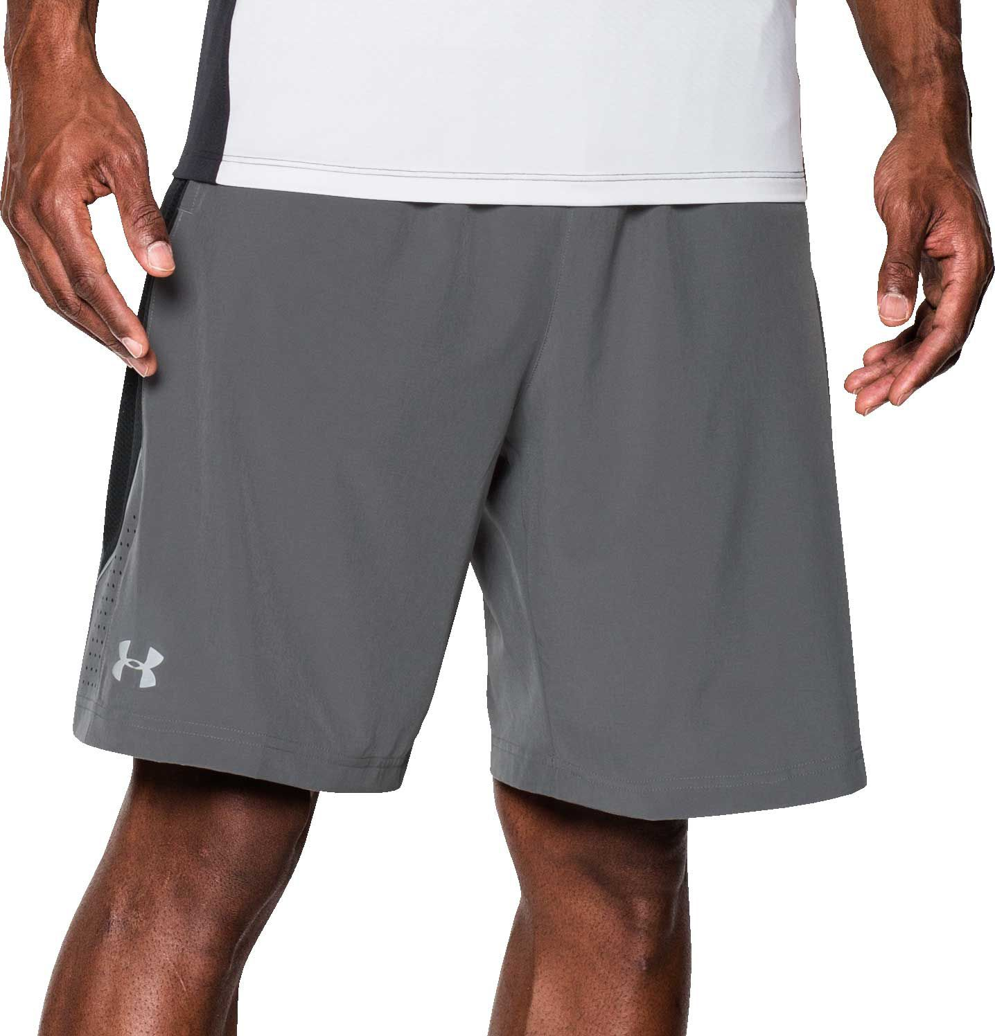 under armour mens shorts. under armour men\u0027s launch stretch woven 9\u201d running shorts mens