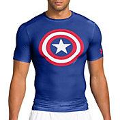 Under Armour Men's Alter Ego Captain America Compression T-Shirt