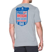 Under Armour Men's Wounded Warrior Project Proud American T-Shirt