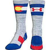 Under Armour Unrivaled Colorado Crew Socks