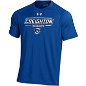Under Armour Men's Creighton Bluejays Blue Tech Performance T-Shirt