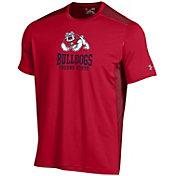 Under Armour Men's Fresno State Bulldogs Raid Performance Cardinal T-Shirt