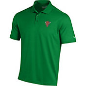 Under Armour Men's Marshall Thundering Herd Green Performance Polo
