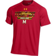 Under Armour Men's Maryland Terrapins Red UA Tech Performance T-Shirt