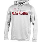 Under Armour Men's Maryland Terrapins Team Pride White Hoodie