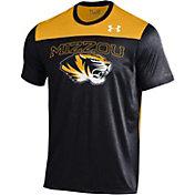Under Armour Men's Missouri Tigers Black/Gold Foundation UA Tech T-Shirt