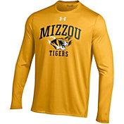 Under Armour Men's Missouri Tigers Gold UA Tech Long Sleeve Shirt