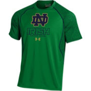 Under Armour Men's Notre Dame Fighting Irish Green Apex Print T-Shirt