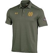 Under Armour Men's Notre Dame Fighting Irish Green Shamrock Series Polo