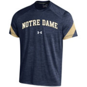 Under Armour Men's Notre Dame Fighting Irish Navy Microthread T-Shirt