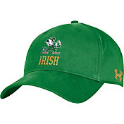 Under Armour Men's Notre Dame Fighting Irish Green Adjustable Hat