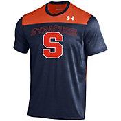 Under Armour Men's Syracuse Orange Blue/Orange Foundation UA Tech T-Shirt