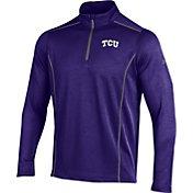 Under Armour Men's TCU Horned Frogs Purple Validate Quarter-Zip Shirt