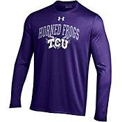 Under Armour Men's TCU Horned Frogs Purple Long Sleeve Tech T-Shirt