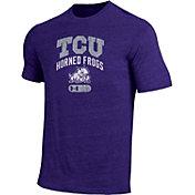 Under Armour Men's TCU Horned Frogs Purple Tri-Blend T-Shirt