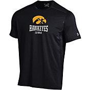 Under Armour Men's Iowa Hawkeyes Raid Performance Black T-Shirt