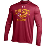 Under Armour Men's Iowa State Cyclones Cardinal UA Tech Long Sleeve Shirt