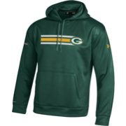 Under Armour NFL Combine Authentic Men's Green Bay Packers Stripe Armour Fleece Green Performance Hoodie