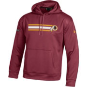 Under Armour NFL Combine Authentic Men's Washington Redskins Stripe Armour Fleece Red Performance Hoodie