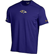 Under Armour NFL Combine Authentic Men's Baltimore Ravens Raid Purple T-Shirt