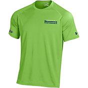 Under Armour NFL Combine Authentic Men's Seattle Seahawks Wordmark Tech Green Performance T-Shirt