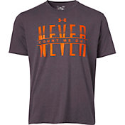 Under Armour Men's Never Count Me Out Graphic Basketball T-Shirt
