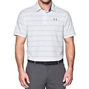 Under Armour Men's Playoff Wedge Stripe Golf Polo