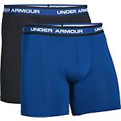 Under Armour Men's Performance Mesh 6'' Boxerjock Boxer Briefs 2 Pack