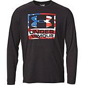Under Armour Men's Big Flag Logo Long Sleeve Shirt