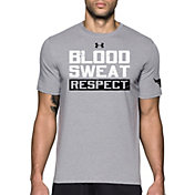 Under Armour Men's Project Rock Blood, Sweat, Respect T-Shirt
