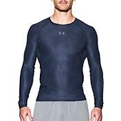 Under Armour Men's HeatGear Armour Printed Long Sleeve Shirt