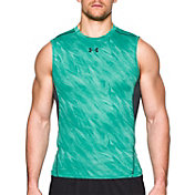 Under Armour Men's HeatGear Armour Printed Sleeveless Shirt