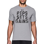 Under Armour Men's Reps, Sets, Gains Graphic T-Shirt