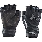 Under Armour Men's Resistor Half-Finger Training Gloves