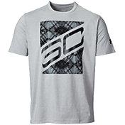 Under Armour Men's SC30 Big Block Graphic Basketball T-Shirt