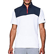 Under Armour Men's SC30 Trey Area Quarter Zip Basketball Shirt