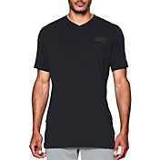 Under Armour Men's SC30 Trey Area V-Neck Basketball T-Shirt