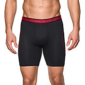 "Under Armour Men's Iso-Chill Mesh 9"" Boxerjock Boxer Briefs"