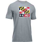 Under Armour Men's Maryland Scrimmage Lock-Up Graphic T-Shirt
