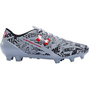 Under Armour Men's Speedform CRM AE FG Superman Soccer Cleats