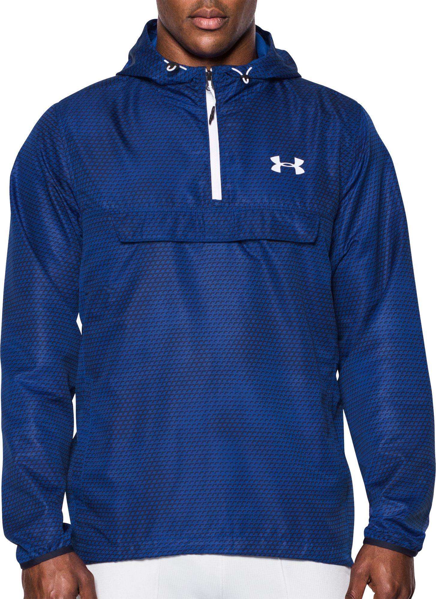 under armour quarter zip hoodie. under armour men\u0027s sportstyle quarter zip anorak jacket hoodie t