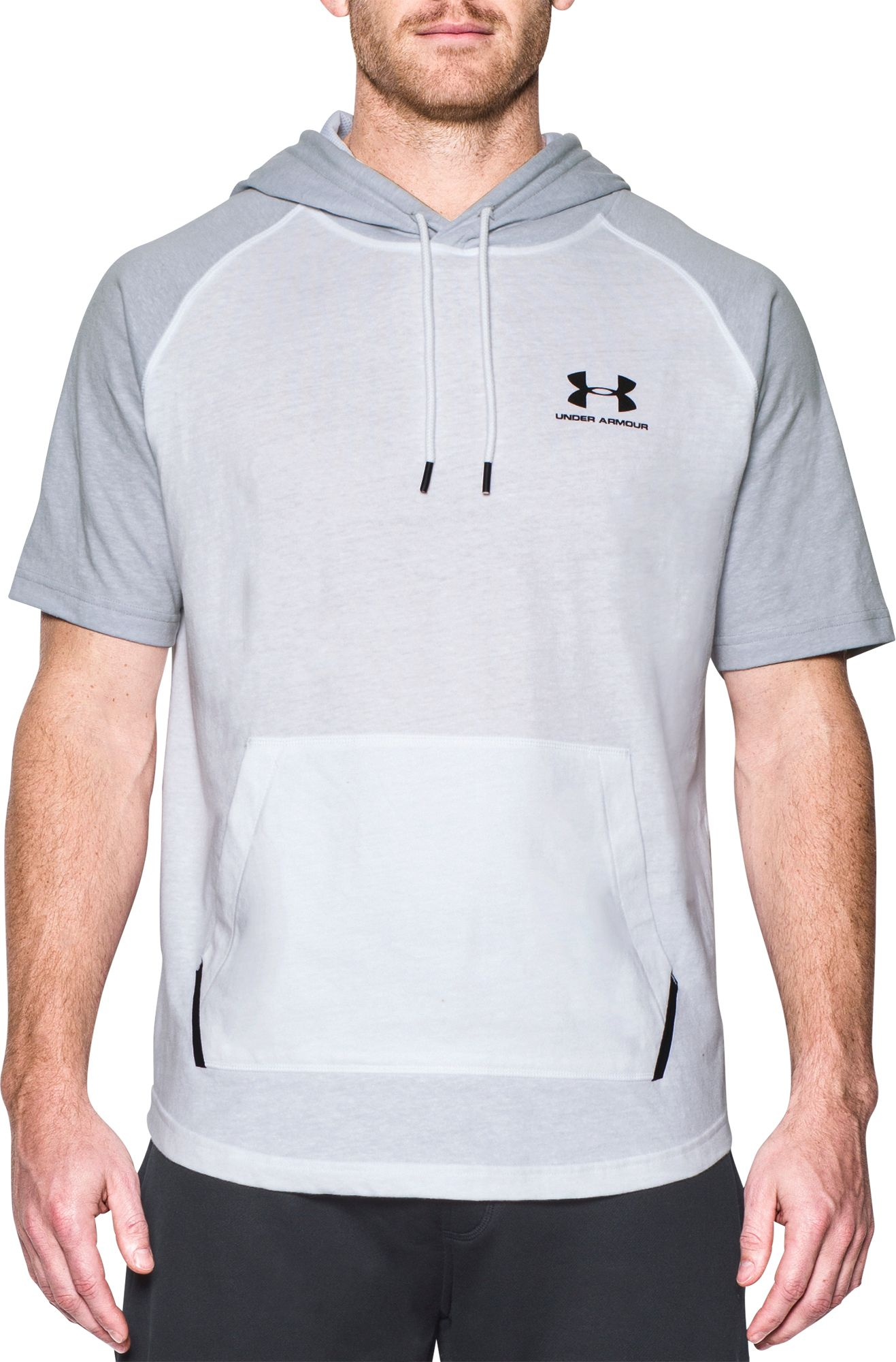 Under Armour Men's Sportstyle Short Sleeve Hoodie | DICK'S ...