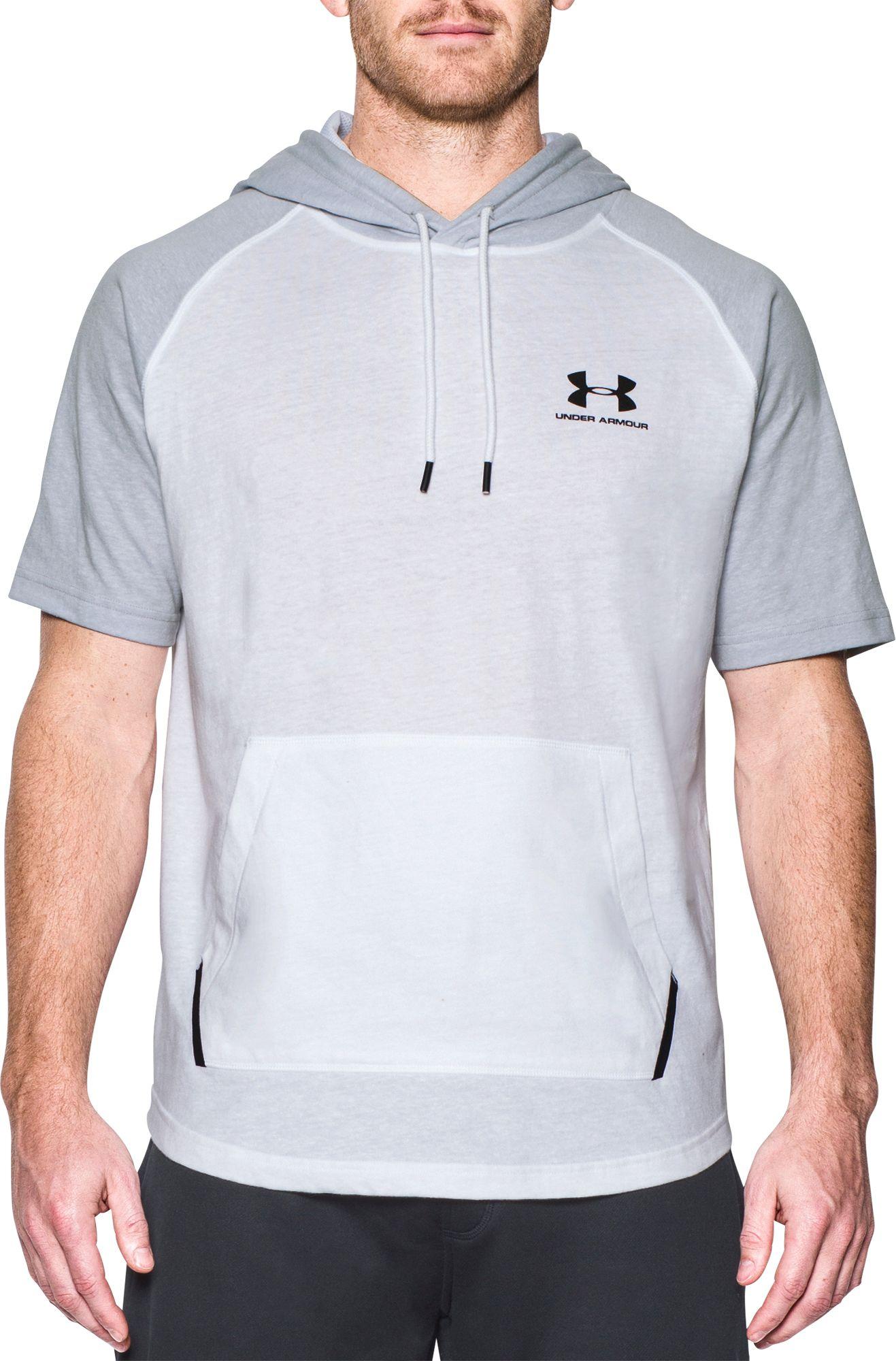 Under Armour Men's Sportstyle Short Sleeve Hoodie | DICK'S ...