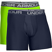 Under Armour Men's O Series 6'' Boxerjock Boxer Briefs 2 Pack