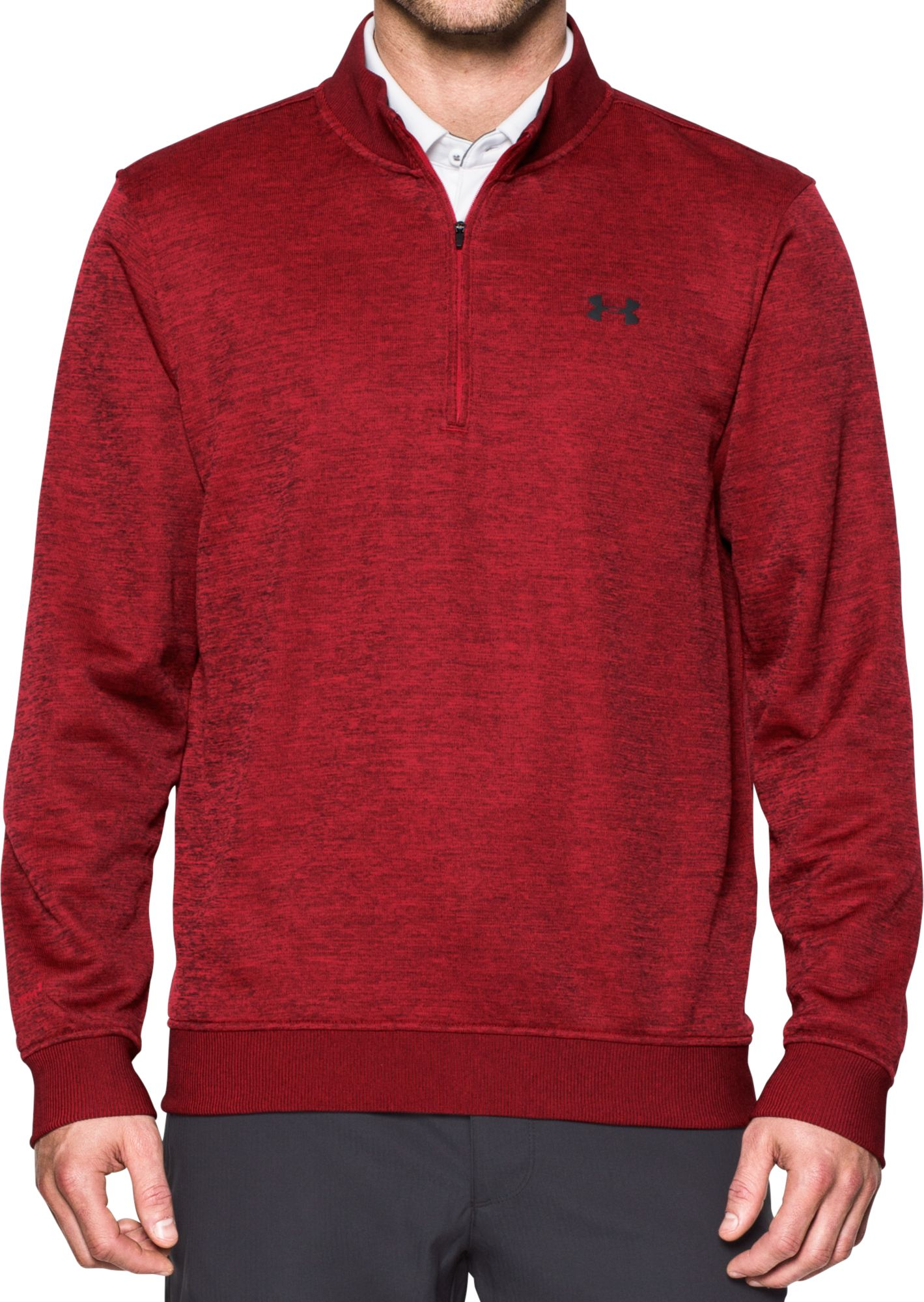Under Armour Men's Storm SweaterFleece Quarter-Zip Golf Pullover ...