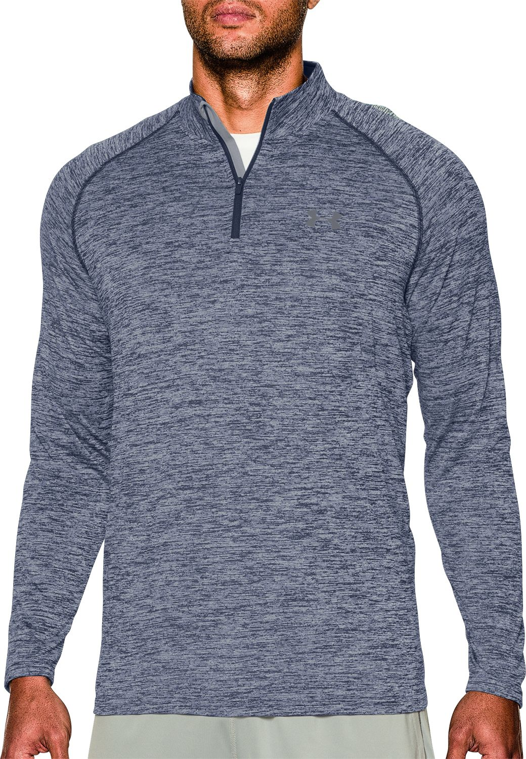 Under Armour Men's UA Tech Quarter Zip Long Sleeve Shirt | DICK'S ...